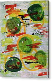 Festivity Balls Acrylic Print