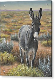 Acrylic Print featuring the painting Festus by Kim Lockman