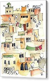 Fez Medina 2017 Acrylic Print