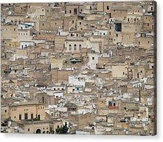 Acrylic Print featuring the photograph Fez Medina by Erik Falkensteen