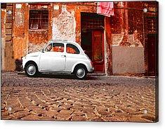 Fiat 500 Acrylic Print