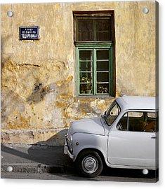 Fiat 600. Belgrade. Serbia Acrylic Print