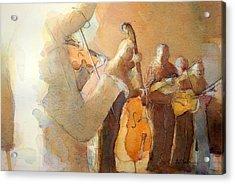 Fiddle Break Acrylic Print
