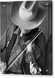 Fiddler #1 Acrylic Print by Jim Mathis