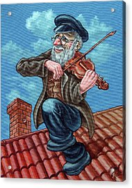 Fiddler On The Roof. Op2608 Acrylic Print