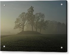 Fiddler's Mound Acrylic Print