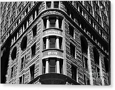 Fidelity Building Detail Baltimore Acrylic Print