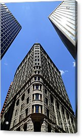Fidelity Building In Color Baltimore Acrylic Print
