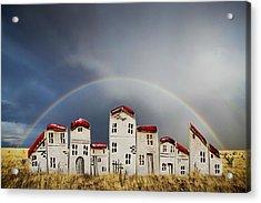 Field Houses Acrylic Print