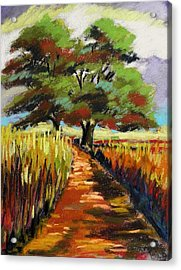 Field Road Acrylic Print