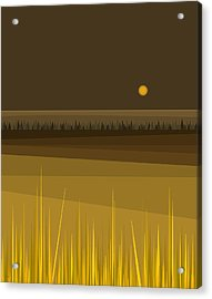 Fields Acrylic Print