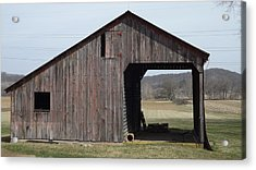 Fieldshed Acrylic Print