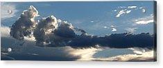 Fierce Cloud Acrylic Print by Jera Sky