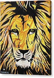 Acrylic Print featuring the painting Fierce Protector 2 by Nathan Rhoads