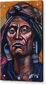 Fierce Warrior Acrylic Print by John Keaton