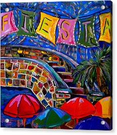 Fiesta Acrylic Print by Patti Schermerhorn