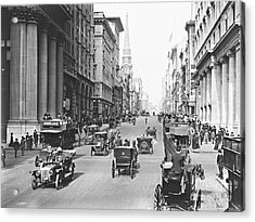 Fifth Avenue And East 34th Street New York City 1907 Acrylic Print by Padre Art