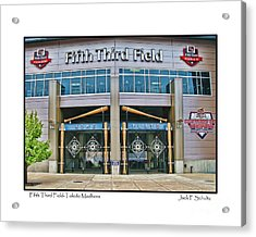 Fifth Third Field Toledo Mudhens Acrylic Print