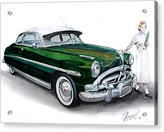 Fifty-one Hudson Acrylic Print by Ferrel Cordle