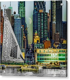 Fifty-seventh Street Fantasy Acrylic Print by Chris Lord
