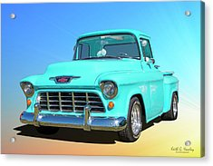 Fifty5 Stepside Pickup Acrylic Print