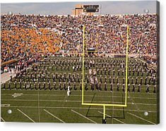 Fighting Irish Marching Band Acrylic Print