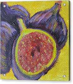 Figs  Acrylic Print by Laurie Morgan