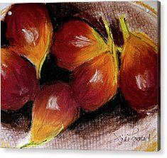Acrylic Print featuring the painting Figs by Linde Townsend