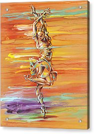 Jazz It Up Acrylic Print by Karina Llergo