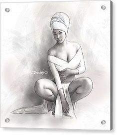 Figure Study 1 Acrylic Print