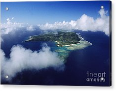 Fiji Aerial Acrylic Print by Larry Dale Gordon - Printscapes