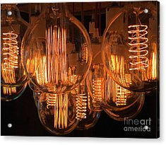 Filaments Acrylic Print