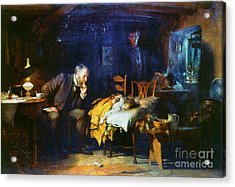 Fildes The Doctor 1891 Acrylic Print
