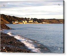 Filey Shore Acrylic Print by Svetlana Sewell