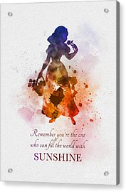 Fill The World With Sunshine Acrylic Print