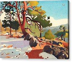 Fillius Ridge Acrylic Print