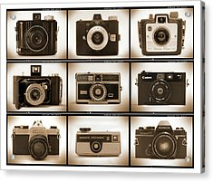 Film Camera Proofs 1 Acrylic Print by Mike McGlothlen