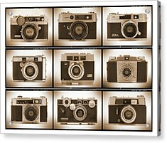 Film Camera Proofs 2 Acrylic Print by Mike McGlothlen