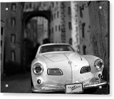 Film Noir Acrylic Print