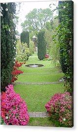 Filoli Gardens Acrylic Print by Shelley Capovilla