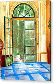 Filoli Tea House Acrylic Print by Gerald Carpenter