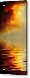 Filtered Sun Acrylic Print by Jerry McElroy