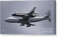 Final Approach Acrylic Print by Scott Evers