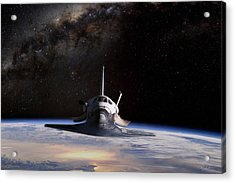 Final Frontier Acrylic Print