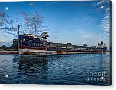Final Mooring For The Algoma Transfer Acrylic Print