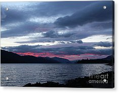 Final Touch Acrylic Print by Victor K