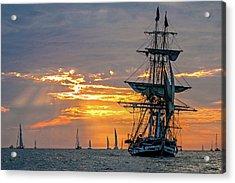 Final Voyage Acrylic Print