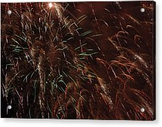 Finale Acrylic Print by Clay Peters Photography