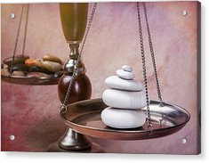 Find Your Balance Acrylic Print