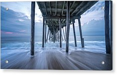 Acrylic Print featuring the photograph Finding Peace by Bernard Chen